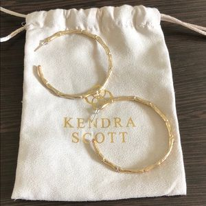 Kendra Scott vintage hoops